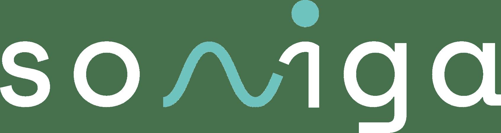 soniga logo blanc